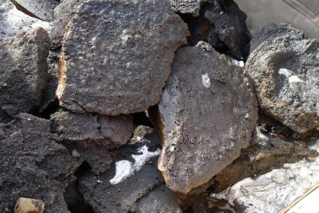 Лигатура-губчатое железо