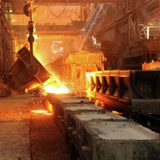 China's steel production is declining