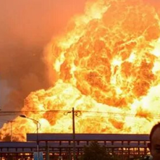 В Китае произошел мощный взрыв на алюминиевом в заводе (ВИДЕО)