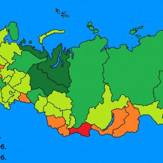 В России отыскали регионы, где живет больше всего миллионеров
